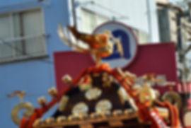月島四之部町会神輿 関西風大鳥