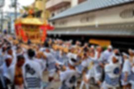 住吉大社神輿渡御風景