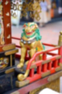 伊勢佐木町1・2町会の神輿 獅子