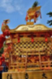 煌びやかに蘇った住吉大社神輿