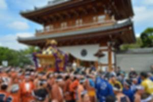 東京都文京区 白山神社神輿