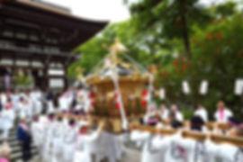 茅ヶ崎市今宿 松尾大神神輿 平成30年松尾大社渡御