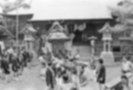 昭和55年 平塚市 前鳥神社例大祭 神輿発輿