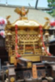 住吉大社 旧神輿(修繕前)