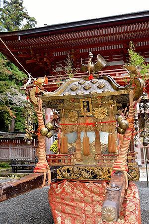 日吉大社 国指定重要文化財神輿 樹下宮