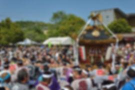 平成30年 相模国府祭 前鳥神社神輿
