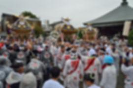 相模国四之宮 前鳥神社 1650年式年大祭奉祝渡御@北向観音堂
