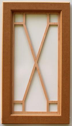 Square Corner X Grid