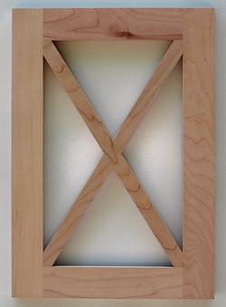 501 Glass X Grid