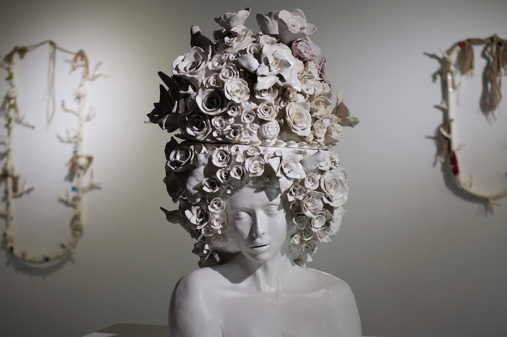 Sculpture céramique Mélanie Broglio sculpteur céramiste art contemporain