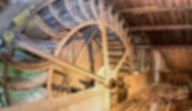 Geberei Kolesch Herstellung Weißgerberwalk Wasserrad