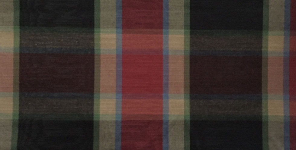 Plaid - Red, Black, Blue, and Green