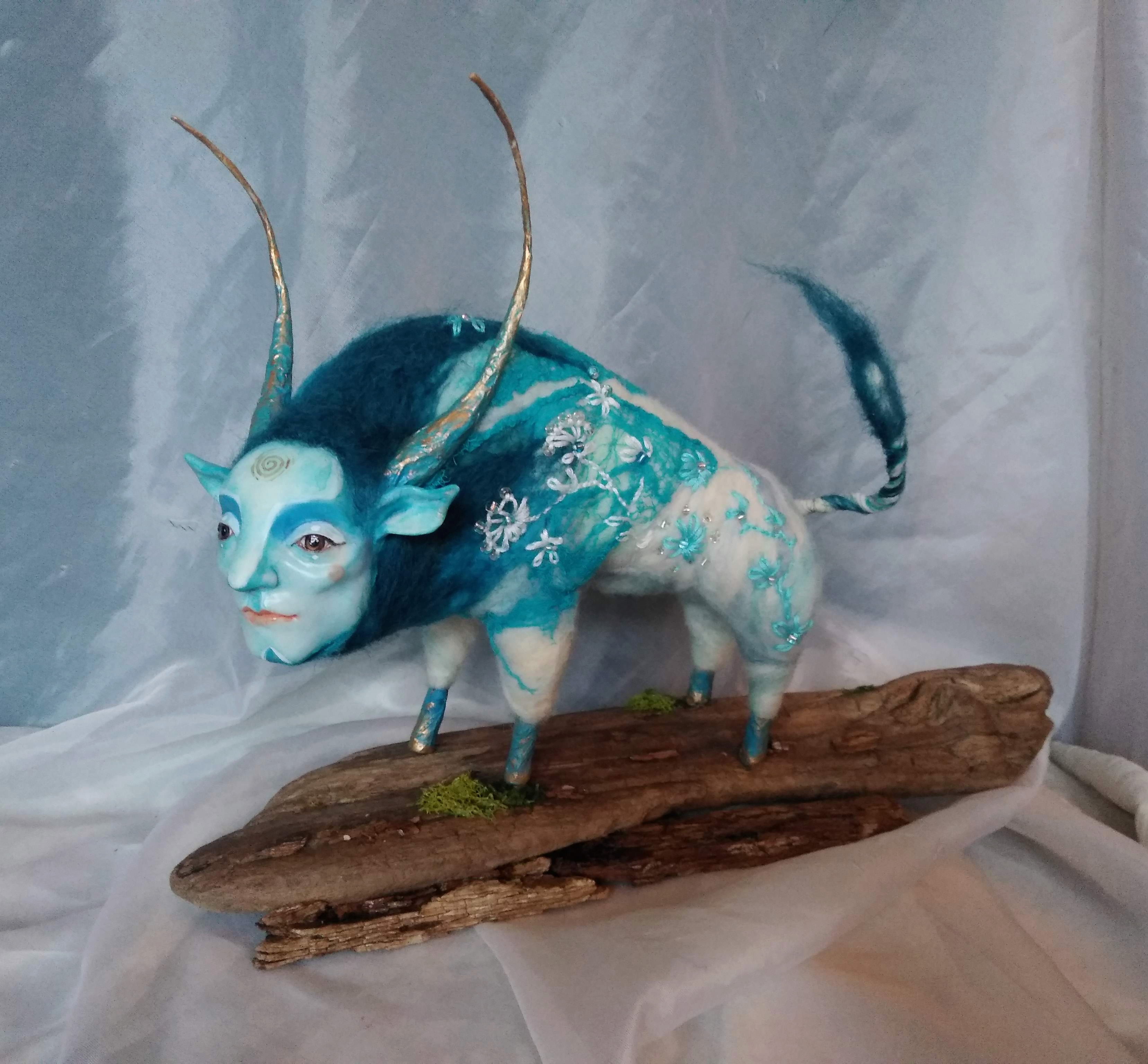 shapeshifters: Blue Bull