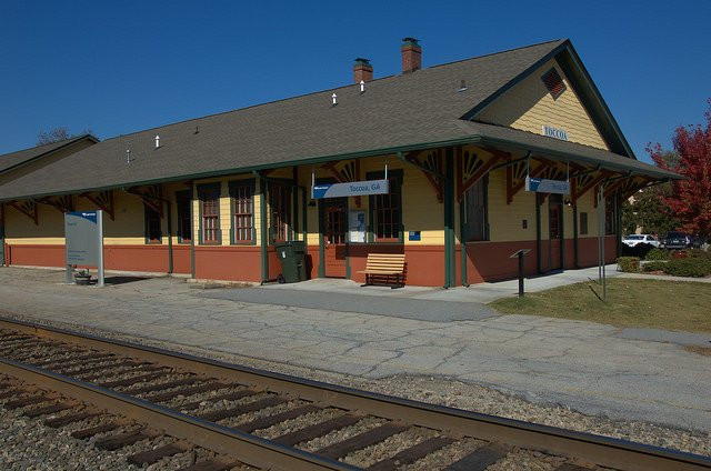Amtrak Station in Toccoa Georgia
