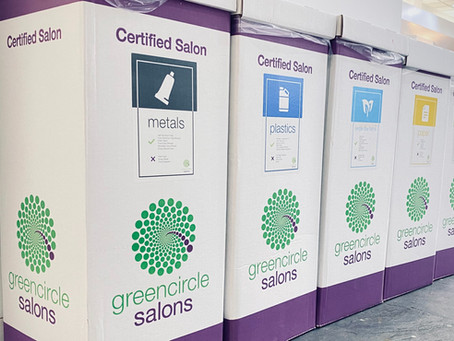 We are officially a Green Circle Salon!