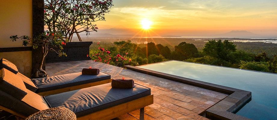 Hotel for honeymoon in West Bali