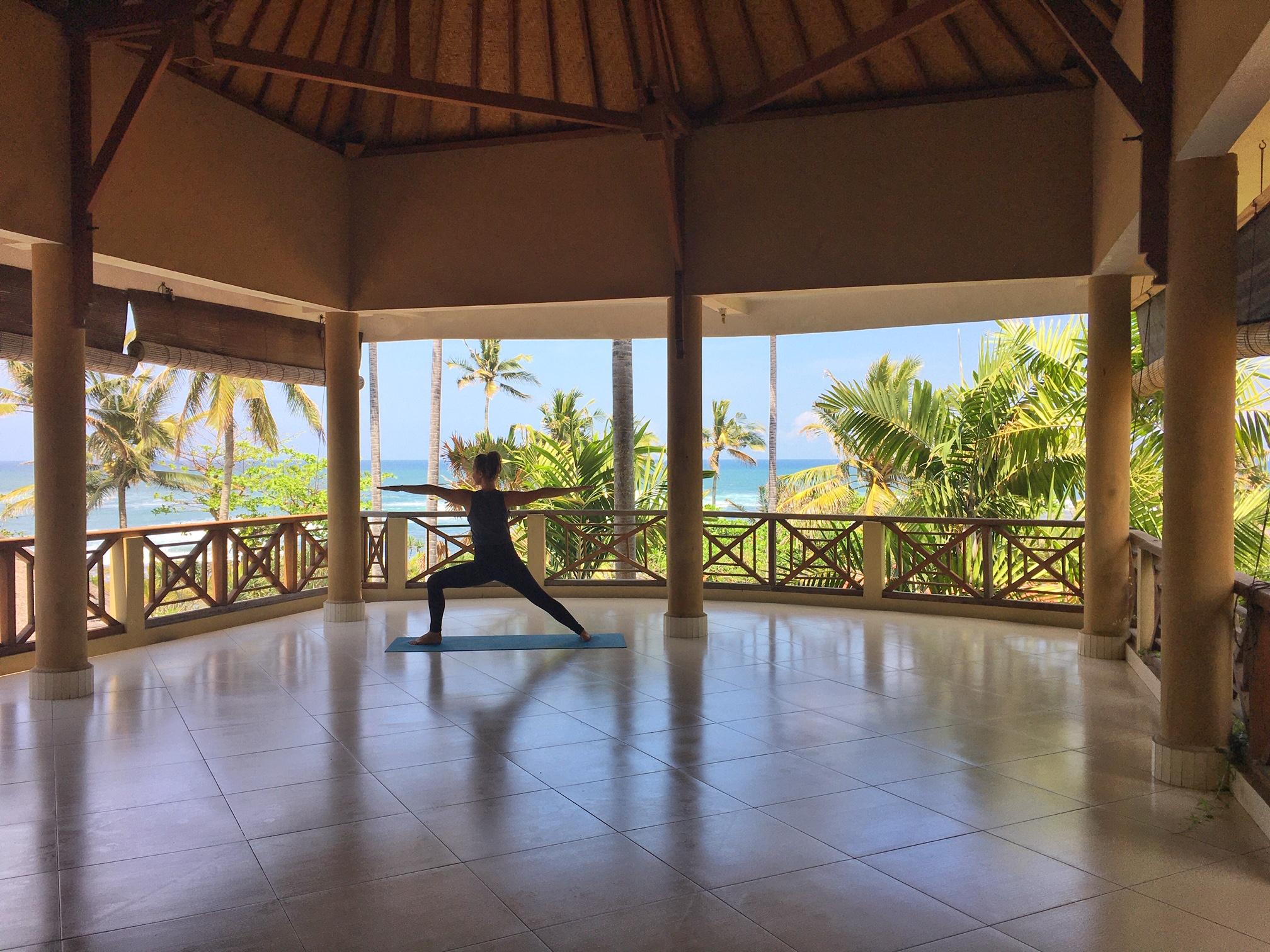 Yoga at Puri Dajuma