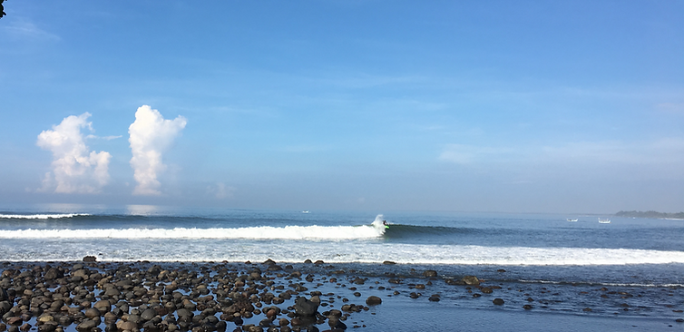 Guide to surfing in Medewi