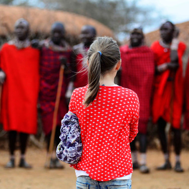 KENYA for Gulf Life || Traditional life in a Maasai manyatta is not for the squeamish. Every morning the warriors feast on a diet of fresh cow's blood curdled with milk.