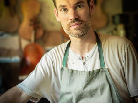 Entretien de passionnée à passionné avec Mathieu Névéol, violoniste et luthier