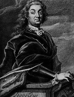 Portrait du Prince Léopold d'Anhalt-Köthen, mécène de Jean-Sébastien Bach