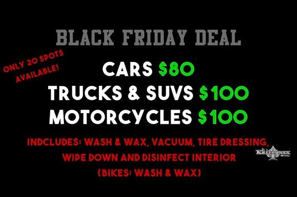Car Black Friday Special