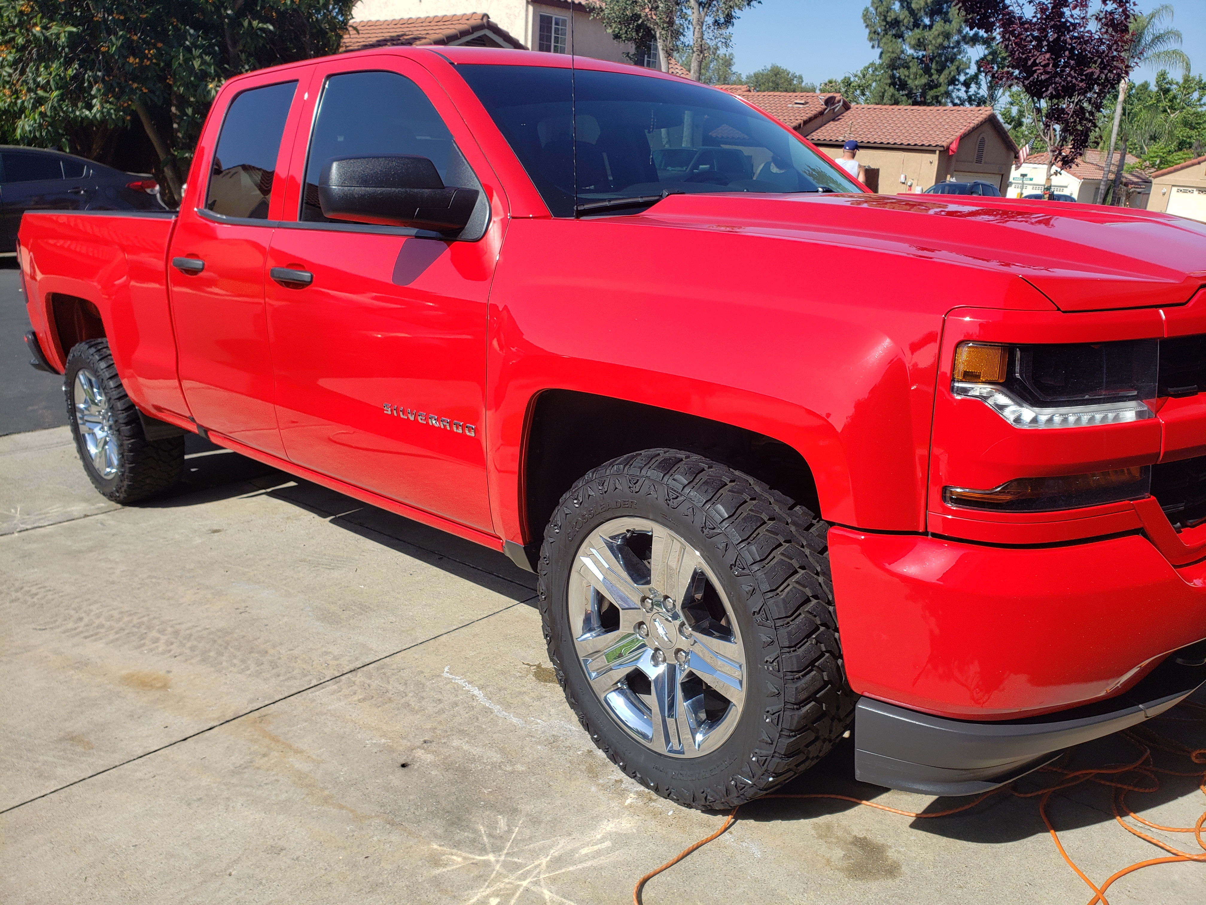 Full Vehicle Detailing Crew Cab Long Bed