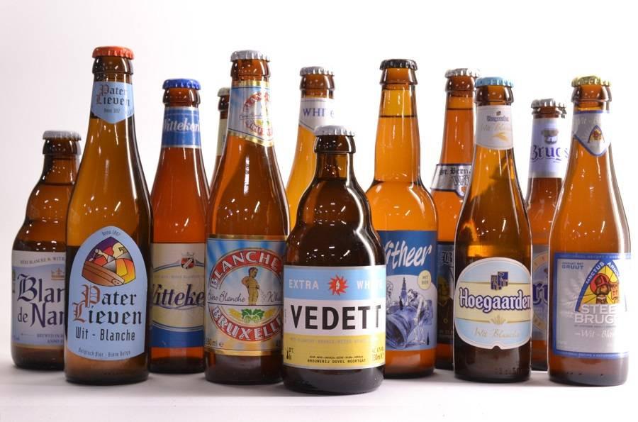 skypero bier: set van 12 witbieren