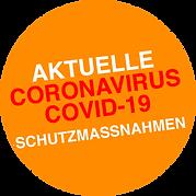Corona_Button aktuelle Schutzmassnahmen.