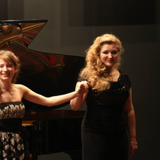 Auditorium de l'Opéra Bastille avec la soprano Anrea Soare