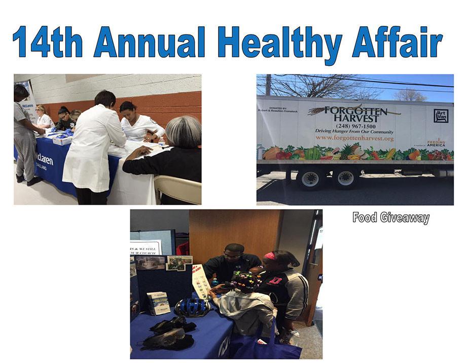 Annual Healthy Affair.