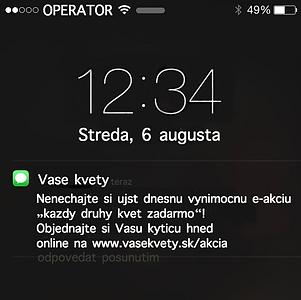 Hromadné SMS
