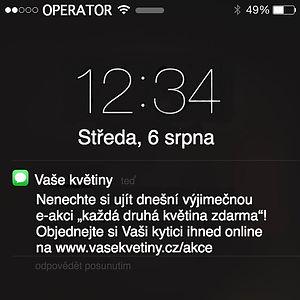 Hromadní SMS