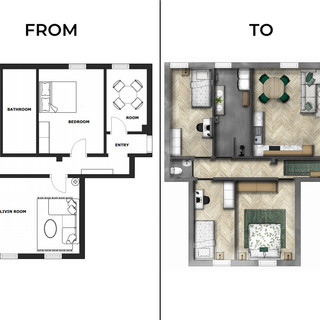 Floor plan: from-to