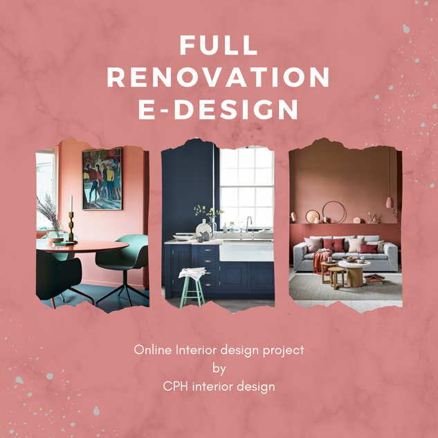 mood board online interior design renovation