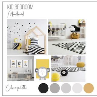 Kid bedroom moodboard cph interior desig
