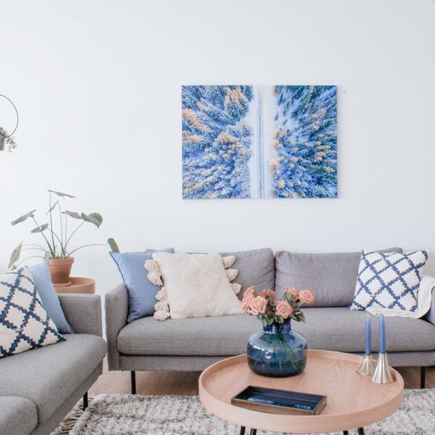 scandinavian living room interior