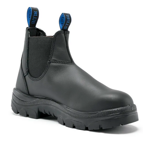 Steel Blue Hobart Elastic Sided Boot