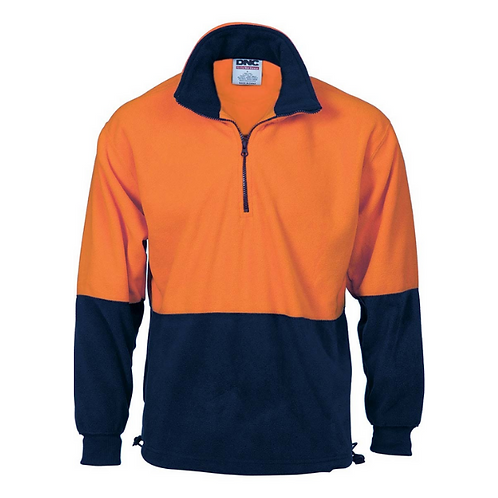 1/2 Zip Polar Fleece Windcheater