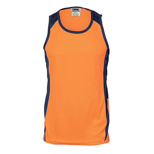 Hi Vis Action Singlet