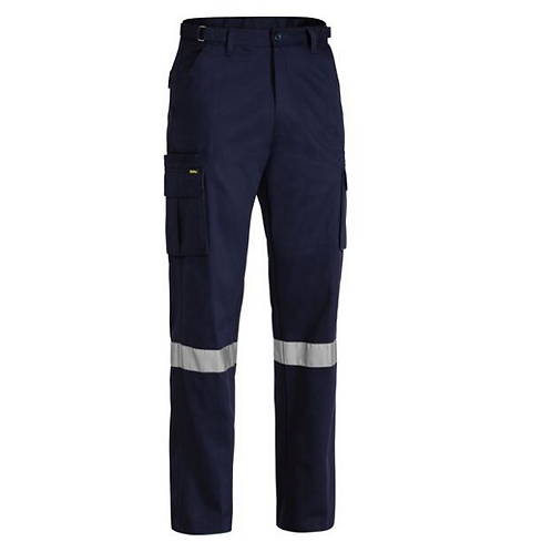 Bisley Cargo Pant with Reflective Tape
