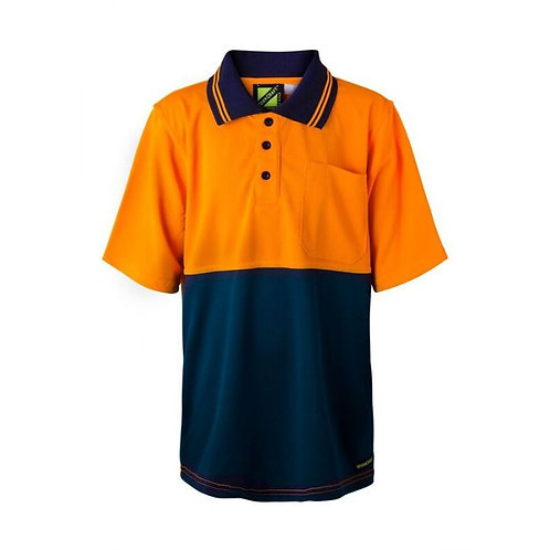 Kids S/S Polo with Pocket