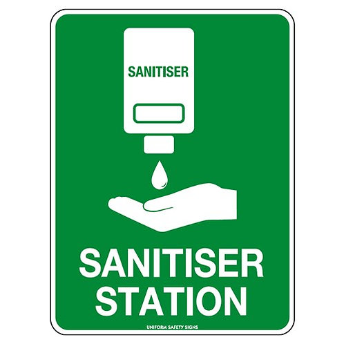 Sanitiser Station Sign