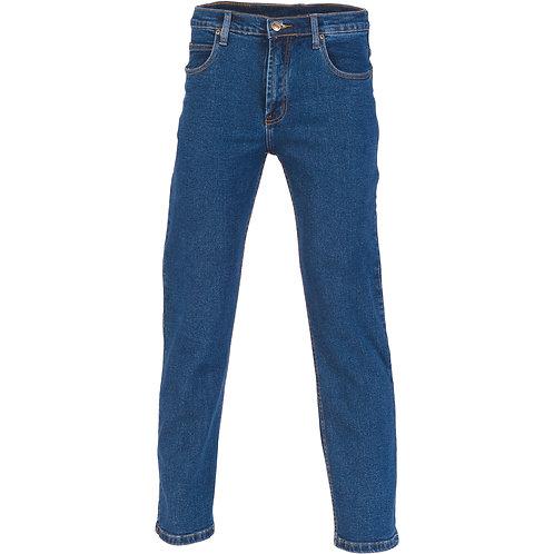 Cotton Denim Work Jeans