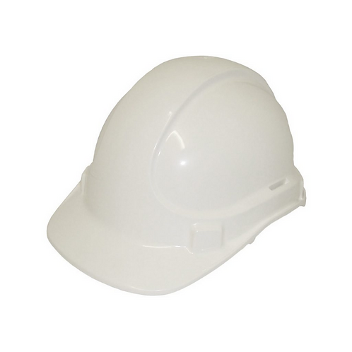 White Construction Hard Hat