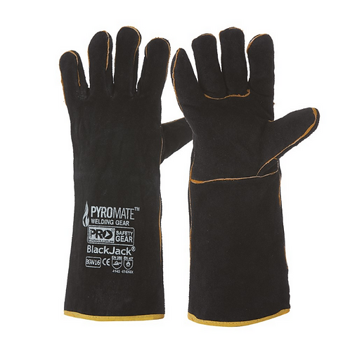 Welders Glove - Black/Gold