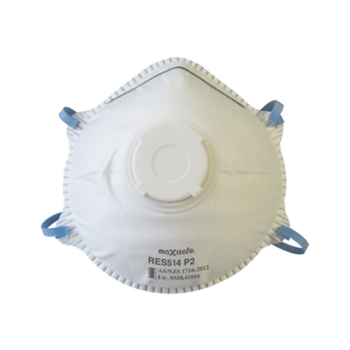 Conical P2 Respirator with Valve (BOX of 10)