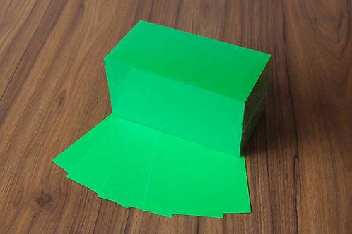 """""""die Dicken"""" Moderationskarten 10x20cm   Grün"""