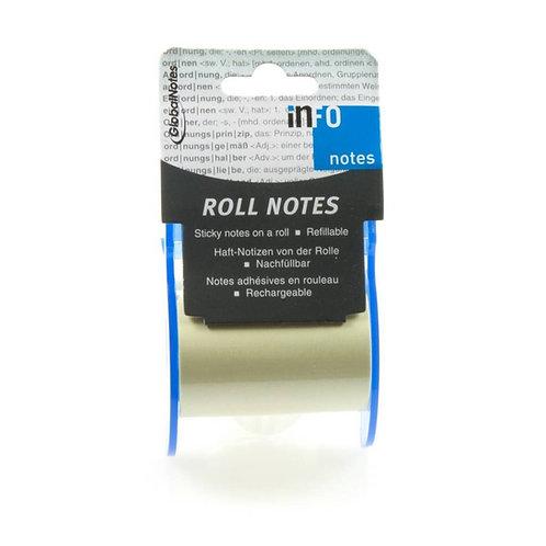 Roll Notes / Notizzettel auf Rolle + Nachfüller