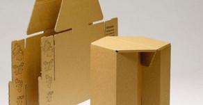 Falthocker aus Recycling-Cellulose – Möbel aus Altpapier